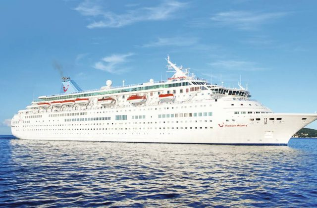 €75 off thomson majesty sailings